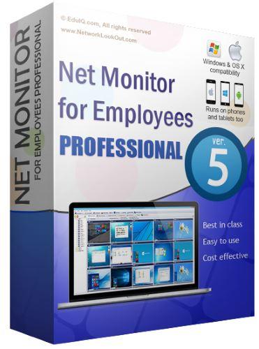 نرم افزار Net Monitor for Employees Professional 5.7.12 نظارت بر کامپیوتر کارمندان شبکه