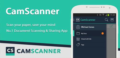 نرم افزار حرفه ای اسکن CamScanner Phone PDF Creator FULL v5.14.5.20191031 اندروید