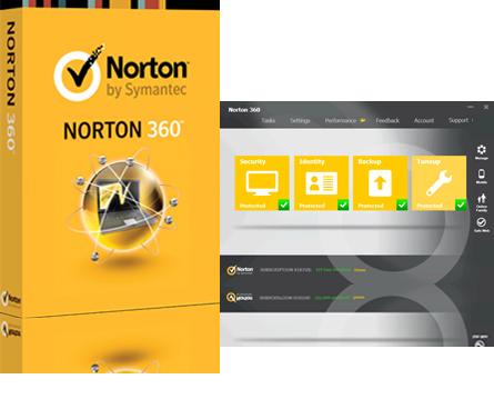 حفاظت از ویندوز Norton 360 22.21.1.151