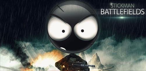 بازی تیر اندازی Stickman Battlefields v1.8.30 اندروید