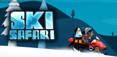 بازی اندروید ski safari