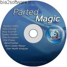 Parted Magic 2016.10.18 پارتیشن بندی هارد بصورت دیسک بوت