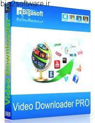 Bigasoft Video Downloader 3.12.8.6141 ذخیره سازی ویدئوهای آنلاین