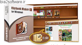 ساخت برووشور و کتاب های متحرک Kvisoft Flipbook Maker Pro v4.0.0.0