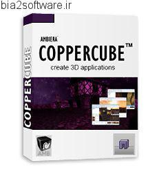 ساخت برنامه های سه بعدی Ambiera CopperCube Professional v5.4