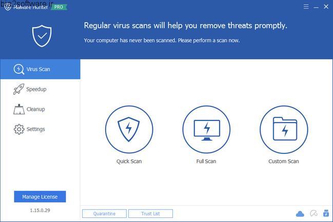 Glarysoft Malware Hunter PRO 1.25.0.42 ضد فایل های مخرب و بدافزارها