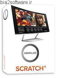 تصحیح رنگ فایل های ویدئویی Assimilate Scratch v8.5 Build 913 x64