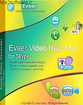 Evaer Video Recorder for Skype 1.6.6 ضبط تماس های ویدئویی و صوتی اسکایپ