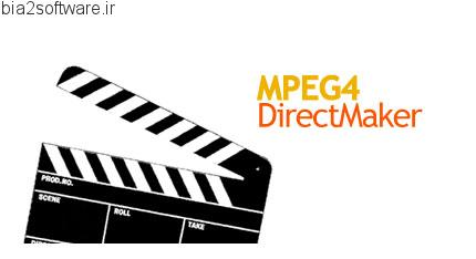 MPEG4 Direct Maker v5.6.0 رایت کردن بیش از چهار فیلم در یک CD