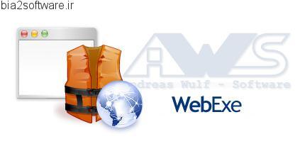 WebExe v1.56 تبدیل فایل های html به فایل های exe