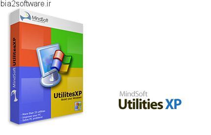 MindSoft Utilities XP v10 افزایش سرعت ویندوز اکس پی