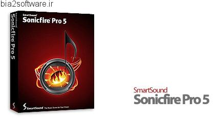 SmartSound Sonicfire Pro v5.0.2 ویرایش و میکس فایل های صوتی