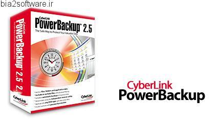 CyberLink PowerBackup v2.50.1305 ایجاد نسخه ی پشتیبان