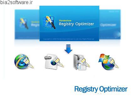Wondershare Registry Optimizer v5.3.3 بهینه سازی رجیستری ویندوز