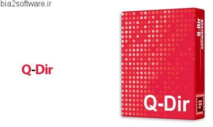 مدیریت فایل ها با Q-Dir v7.05
