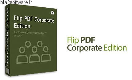 Flip PDF Corporate Edition v2.4.7.6 تبدیل پی دی اف کتاب