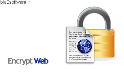 Encrypt Web Pro v2.8 رمزگذاری از صفحات وب و HTML