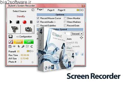 BSR Screen Recorder v4.4.4 گرفتن تصویر و ویدئو از صفحه نمایش
