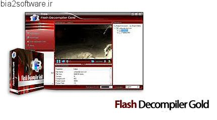 Flash Decompiler Gold v2.3.1.1340 استخراج فایل های فلش