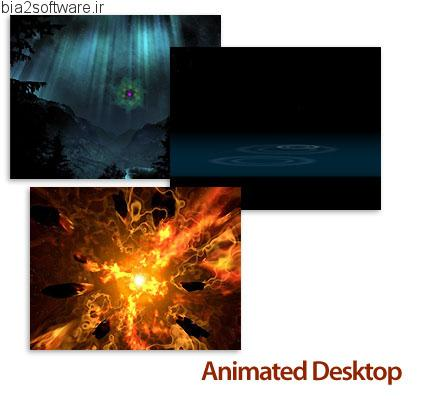 Interlore Animated Desktop v1.2 نمایش انیمیشن در پس زمینه ویندوز