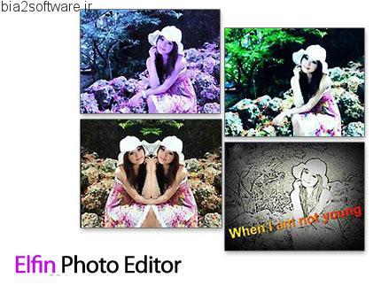 Elfin Photo Editor v1.0 ویرایش تصاویر
