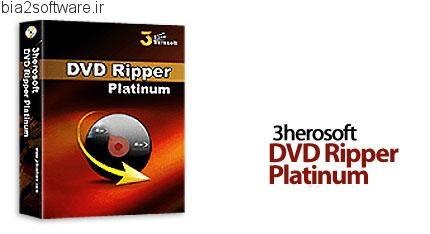 3herosoft DVD Ripper Platinum v3.5.2.0827 تبدیل دی وی دی