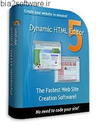 Dynamic HTML Editor v5.6.3 Multilingual ساخت وب سایت