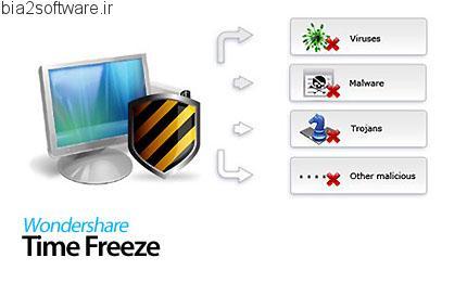 Wondershare Time Freeze v2.0.0 فریز کردن سیستم عامل