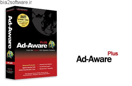 Lavasoft Ad-Aware Plus v8.3 مقابله با برنامه های مخرب