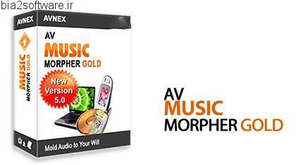 AV Music Morpher Gold v5.0.35 ویرایش و میکس فایل های صوتی