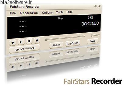 FairStars Recorder v3.36 ضبط صدا