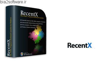 RecentX v3.0 جستجوی سریع فایل در کامپیوتر