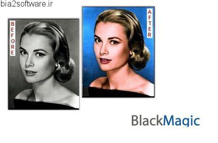 Black magic v2.8 تبدیل عکس سیاه و سفید به عکس رنگی