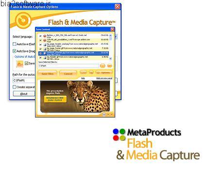 Flash and Media Capture Player v2.0.210 دریافت و ذخیره تصاویر و ویدئوها