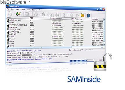SAMInside v2.6.6.0 رمزگذاری و رمزگشایی