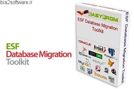 ESF Database Migration Toolkit Professional Editon v6.3.27 ویرایش و تبدیل بانک اطلاعاتی