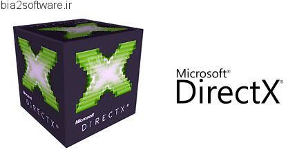 Microsoft DirectX End-User Redistributable v9.0c مایکروسافت دایرکت ایکس