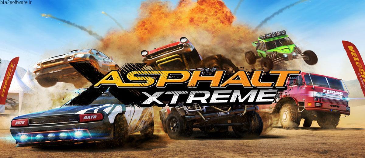 Asphalt Xtreme 1.6.0l بازی آسفالت اکسترم گیملافت اندروید با دیتا