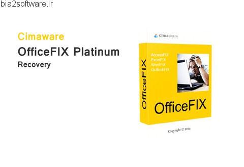 OfficeFIX Platinum Professional v6.119 بازیابی فایل های مجموعه مایکروسافت آفیس