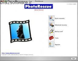 PhotoRescue Pro v6.16 Build 1045 بازیابی تصاویر حذف شده از انواع رسانه های ذخیره سازی