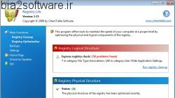 Registry Life 3.44 بهینه سازی و پاکسازی رجیستری