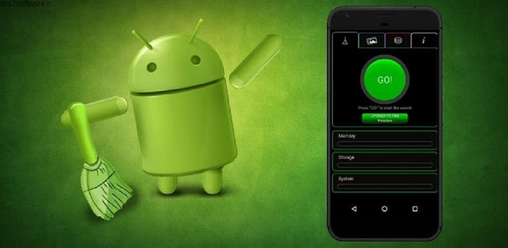 Ancleaner Pro, Android cleaner v3.37 اپلیکیشن بهینه ساز و پاک کننده قدرتمند اندروید