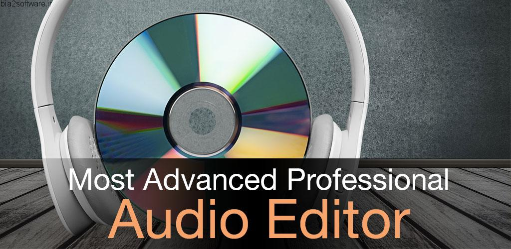 Audio MP3 Cutter Mix Converter PRO v1.72 اپلیکیشن ویرایش حرفه ای و فوق العاده فایل های صوتی در اندروید