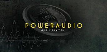 PowerAudio Pro music player v8.2.6 اپلیکیشن موزیک پلیر حرفه ای و پر امکانات دستگاه های اندروید