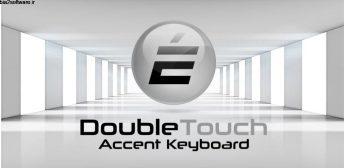 Double Touch Accent Keyboard – Accents Keyboard v1.0 برنامه ای برای تایپ شکل های مختلف حروف انگلیسی در اندروید