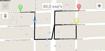 Mock Locations (fake GPS path) v1.58 اپلیکیشن لوکیشن جعلی اندروید