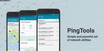 PingTools Pro v4.47 اپلیکیشن کاربردی مجموعه ابزار شبکه مخصوص اندروید