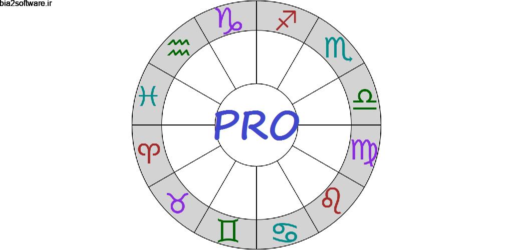 Astrological Charts Pro 9.3.3 اپلیکیشن رسم نمودار های طالع بینی و آسترولوژی مخصوص اندروید