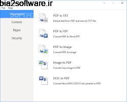PDF Shaper Professional 9.7 ویرایش و تبدیل اسناد PDF