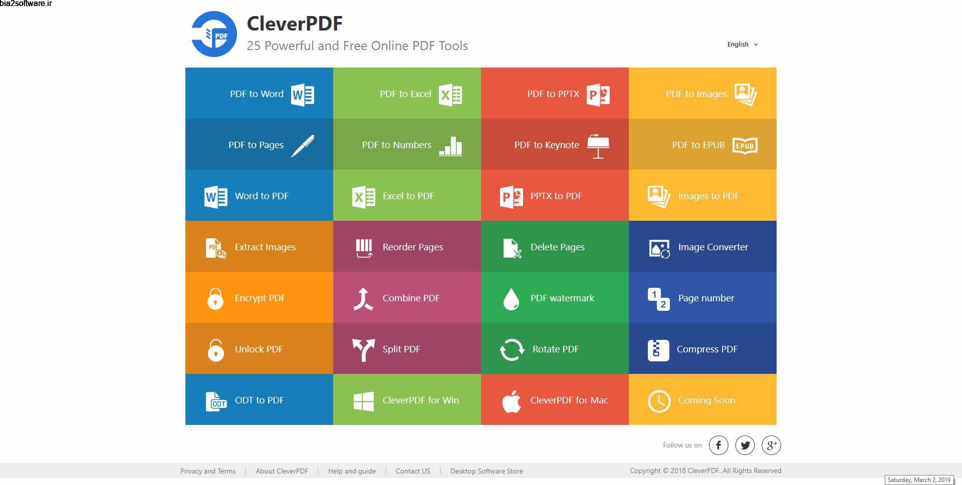 CleverPDF 3.0.0 ابزار قدرتمند جهت کار بر روی اسناد PDF